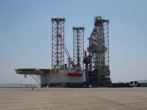 KS Drilling's Java Star 2 jackup is under construction at the ZPMC yard in China and will be delivered in Q1 2014.