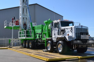 The compact and mobile Legacy rig, designed by Rangeland Drilling Automation, is less than half the length of a conventional well servicing rig so it can operate on less horsepower while generating less emissions.