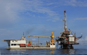 Alpha, Atlantica's first tender barge, commenced operations for Total offshore the Republic of Congo in 2011. The barge can operate in approximately 656-ft (200-meter) water depth.