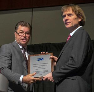 Rolv Rommetveit, winner of SPE Drilling Engineering Award