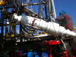 Weatherford's Model 7875 BTR RCD is helping to extend MPD capabilities to deepwater drilling operations from dynamically positioned drilling vessels.