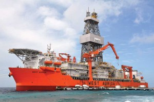 The West Auriga, a Seadrill ultra-deepwater drillship, began working last year for BP in the Gulf of Mexico. By year-end, Seadrill will have six deepwater and ultra-deepwater rigs operating in the US GOM, tripling the number from two years ago.