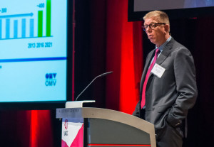 """""""If we can halve the cost of the wells, we will double the number of wells that we drill,"""" OMV's Jaap Huijskes stated in his keynote presentation at IADC World Drilling 2014 in Vienna last week."""