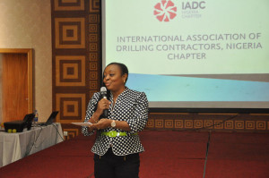 """IADC brings a lot of value because it brings companies together to cooperate and collaborate even though we compete,"" Omesiri Adegite, Nigeria Chapter Treasurer, said."
