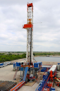 Patterson-UTI's Rig 279 is also operating in the Eagle Ford. The rig is equipped with two 1,600-hp triplex mud pumps and a 500-ton top drive.