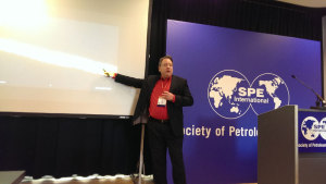 FracInsight is a new service to better select perforation and fracturing stage locations from formation evaluation data, Dan Buller of Halliburton explained at the 2014 SPE Annual Technical Conference in Amsterdam.