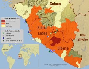 The largest Ebola epidemic in history has taken its toll on West Africa, a major area of activity for the drilling industry. In the hardest hit countries, such as Liberia, operators have put exploration plans on hold.