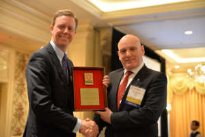 Ensco's Brady K. Long received the IADC Exemplary Service Award at the 2014 IADC Annual General Meeting in New Orleans, LA.