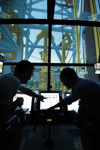On top of team-based courses, crews destined for MPD-equipped rigs undergo classroom introductions followed by an introduction to the system in the simulator. For one ConocoPhillips project, Weatherford's simulator piggy-backed onto the Maersk simulator to provide crews with a true-to-life experience.