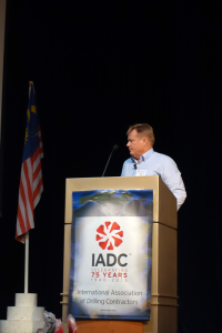 """Scott Dennon, Assist & Assure Team Lead at Shell, spoke at the 2015 IADC Drilling HSE&T Asia Pacific Conference on 11 March in Kuala Lumpur. He highlighted ways that Shell has encouraged active participation, such as changing """"toolbox talks"""" to """"toolbox quizzes."""""""