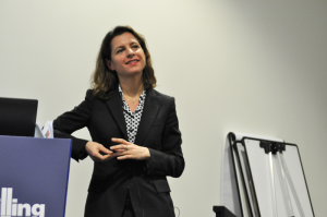 Catherine MacGregor, President of Europe and Africa for Schlumberger, shared advice gleaned over the course of her 20-year career in oil and gas with young professionals at the 2015 SPE/IADC Drilling Conference in London on 18 March.