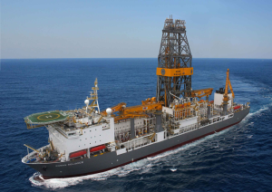 The Rowan Reliance is under contract to Cobalt International until February 2018. The drillship was able to secure a dayrate in the $600,000s before rates were driven down to $400,000/day, the current average reported by IHS. Rowan's other ultra-deepwater drillship in the Gulf, the Rowan Resolute, is under contract with Anadarko until 2017, also with a dayrate in the $600,000s.