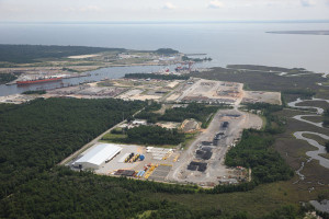 The SURF Shore Base in Theodore, Ala., houses MWCC's subsea umbilical, risers and flowlines equipment. SURF equipment is used to flow fluid to capture vessels on the surface – a vital part of the expanded containment system completed for the US deepwater Gulf of Mexico earlier this year.