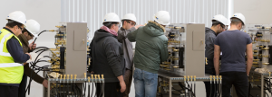 Students get hands-on practice at the Ableman Drilling Careers Academy in Malta. On 30 March, 24 graduates of the Ableman academy were presented with the first WADI certificates.