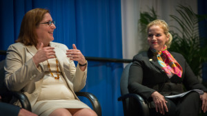 Christina Sistrunk, VP Arctic Capability, Shell Upstream Americas, encouraged women to define success and their career paths for themselves.