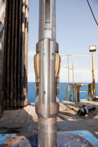 The first on-command digital reamer was developed by Baker Hughes and Statoil in 2007 as a single-size prototype; it was used exclusively in the Norwegian and UK sectors of the North Sea. In 2012, Baker Hughes began to develop several sizes of an improved, downlink-activated reamer for global offshore markets.