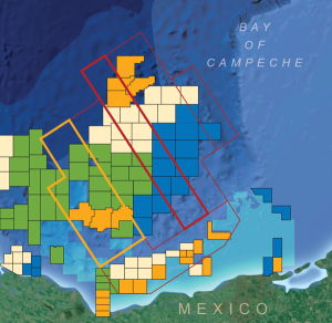 Completion of the seismic acquisition program offshore Mexico, which will cover 80,000 sq km, is expected in early 2016.