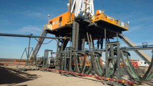 San Antonio International ordered this NOV Ideal Prime 1500 rig to help meet demand for high-technology rigs to drill in Argentina's unconventional plays. SAI-651 is San Antonio's first walking rig. The contractor said it is working to bring more rigs with walking capability into its fleet.