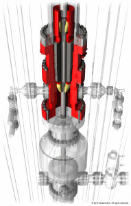 The marine series rotating control device contains dual sealing elements that create the pressure-tight barrier that augments closed-loop drilling.