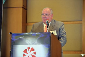 Bottom: 2015 IADC Chairman Ed Jacob has advocated throughout this difficult year for the industry to seek cost savings in operations rather than by short-changing personnel on training and safety. Read Mr Jacob's editorial on Page 96.