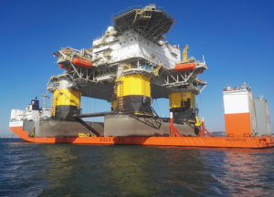 The Atlantica Delta, a newbuild semi tender rig, is set to begin drilling in the Congo in Q1 2016. It is contracted with Total for 3 1/2 years and set to work on the Moho Nord project in the Moho-Bilondo license, approximately 75 km off the coast of Pointe Noire. The rig will be used with a tension leg platform and was chosen for its ability to drill deeper wells than a barge tender assist.