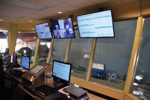The performance of Tenaris's BlueCoil system is monitored from a control room. The system, which has a yield strength of 125 ksi, was commercially deployed for the first time in mid-2015.
