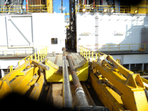 The XACT acoustic telemetry network features sensing tools that are incorporated into the drill string every 4,000-5,000 ft. These tools act as both repeaters to help carry acoustic signals along the pipe up to surface and as separate measurement points. Because the signal is sent through the pipe, the network enables data collection at any point that drill pipe is in the well.