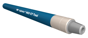 NOV's Agitator NEO CT tool sends pressure pulses along the coiled tubing's longitudinal axis. These pulses break static friction between the coiled-tubing string and the wellbore or casing.