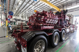 The SPM QEM 3000 was designed for continuous-duty pressure-pumping operations at a sustained 275,000-lb road load, 24 hours per day, seven days per week.