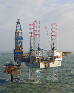 The Noble Regina Allen is currently Noble Drilling's only available North Sea rig. It has been warm-stacked in Denmark since December 2015.