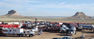 Liberty Oilfield Services operates one of its two frac fleets in Colorado's DJ Basin. The company also has three frac fleets each in the Bakken and the Permian Basin.