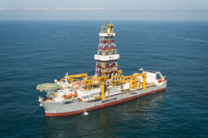 The Brava Star, QGOG Constellation's ultra-deepwater drillship, can drill in waters as deep as 12,000 ft. The rig was delivered from Samsung Heavy Industries in 2015.
