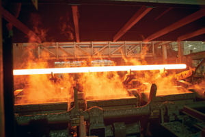 A challenge for the industry has been to increase the yield strength of casing and tubing without increasing hardness, which lowers the material's H2S resistance. Vallourec addresses this through a quenching process, during which heat-treated steel is rapidly cooled down, to increase yield strength without increasing hardness.