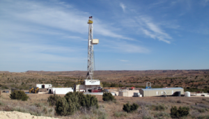 Unit Drilling Company's Rig 23 drills a vertical well for Texakoma in Roberts County, Texas, in December 2013. Texakoma's largest assets are currently within Roberts County in the Texas Panhandle. However, the company also operates in South Texas and is considering moving into the Permian. Photo Courtesy of Texakoma.
