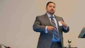 Jose Meraz, BOP Reliability Team Lead for Shell, explains how the company has worked to improve data collection and organization on BOP failures to increase uptime. Shell's average BOP uptime is now at 97%, he said at the 2016 IADC Well Control Europe Conference on 20 October in Copenhagen.