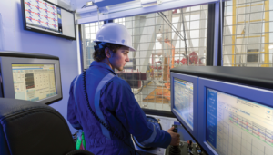 Nabors recently introduced Rigtelligent, an icon-based modular control system that automates routine drilling tasks to provide more consistent performance while also enhancing the safety and efficiency of operations. Drillers can utilize the control system to perform simultaneous tasks that were previously done in sequence. Completing these tasks in parallel reduces invisible flat time for operators.