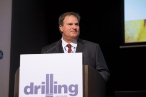 Diamond Offshore developed the Floating Factory concept to eliminate waste and reduce costs for offshore drilling, James Hebert, Director of Operations and Technical Support, said on 14 March at the 2017 SPE/IADC Drilling Conference. The design includes a dual mud pit system and 50% more deck space compared with typical sixth-generation rigs.