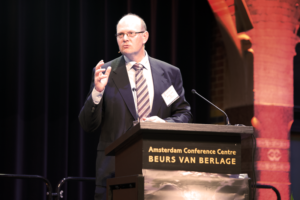 Speaking at IADC World Drilling 2017 on 28 June in Amsterdam, Michael Collins, VP Wells Joints Ventures for Shell, urged the drilling industry to not return to the old normal but to adapt itself for new norms.