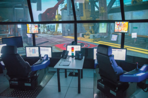 High-fidelity drill floor simulators, like this one at the Maersk Training facility in Houston, are powerful tools, but training exercises must be well-designed in order to maximize the tool's potential to improve team performance. For example, companies often overlook the identification of learning objectives and expected performance standards when considering simulator-based exercises.