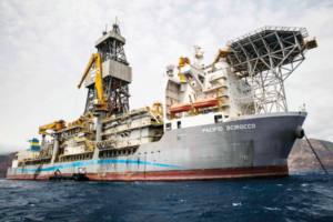 The Pacific Scirocco drillship recently completed a contract with Hyperdynamics Corp offshore Guinea. The contract was for one firm well, with three optional wells. Short-term contracts like this are still pervasive in the ultra-competitive deepwater market.