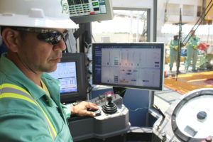 Process automation has already been deployed on 20 of Precision's rigs, and the company plans to roll the technology out across its AC fleet over the next two to three years. This type of automation allows the driller to spend more time on monitoring the overall drilling cycle rather than on mechanistic and repetitive tasks. The driller's focus can also turn to managing and training the rig crew.