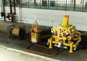 The IWOC provides a reduced footprint by moving the hydraulics subsea, eliminating the need for larger and heavier topside hydraulic umbilical, reel or designated containers.