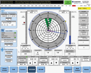 Nabor's ROCKIT Pilot drilling software uses downhole data to rotate the top drive quill position to automatically steer the bottomhole assembly and control sliding while direction drilling. The software was recently deployed in combination with the Navigator to drill eight wells in the Permian Basin. Results showed that the technologies performed as well or better than human directional drillers when evaluated against KPIs such as ROP, toolface control, pre-slide time and burn footage.