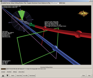 Nabor's RigWatch Navigator is a software platform that provides automated directional drilling decisions and guidance every 90 ft. The software was developed to be easily integrated with Nabor's Rigtelligent drilling control system.