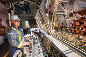 The Ensign EDGE control system, which integrates rig controls, data analytics and communication, is installed on 35 of Ensign's large AC and smaller hydraulic rigs.