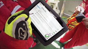 KCA Deutag recognized that any tablets used for its digital checklists must be suitable for all locations, including those with low internet connectivity, as well as be intrinsically safe and ATEX Zone 1 compliant.