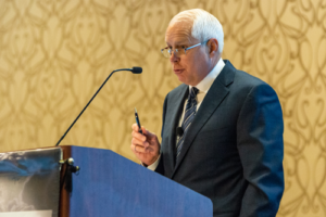 Precision Drilling President and CEO Kevin Neveu laid out his predictions for a new, data-driven paradigm in the drilling industry – an approach he called Drilling 4.0. Mr Neveu described this new approach during a keynote address at the 2018 IADC Advanced Rig Technology Conference, which was held 11-12 September in Austin, Texas.