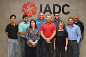 IADC held its first WellSharp Facilitator course at its new Houston headquarters on 30 July to 2 August in Houston. Back row from left are Apichit Supjarassaeng, Chevron; Jordan Milazzo, Chevron; Charles Johnson, Smith Mason; Todd Roberts, Wild Well Control; Pablo Pineda, Westec. Front row from left are Sonia Martin, IADC; Tom Sauvagean, Chevron; Linda Dowling, IADC Facilitator; and Gerardo Barrera, IADC.