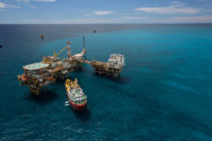 The Sarku Santubong vessel services PETRONAS' Samrang Platform offshore Malaysia. PETRONAS believes that developing digital capabilities is crucial to its efforts to strengthen its business and deliver a step-change in value and culture.