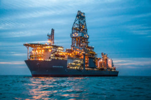 The Deepwater Proteus is drilling in the US Gulf of Mexico for Shell. Transocean recognizes that its real competition is not necessarily traditional drilling company competitors, but the competition for capital spend within operators, who have a choice between spending money on onshore, offshore, renewables and other unconventionals.